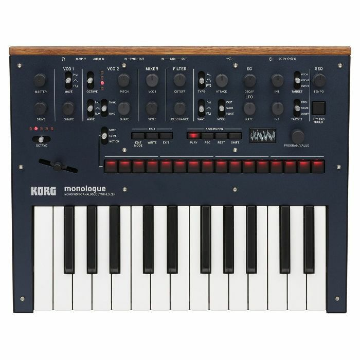KORG - Korg Monologue Monophonic Analogue Synthesizer (dark blue)