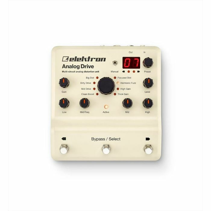 ELEKTRON - Elektron Analog Drive Multi Circuit Analog Distortion Unit