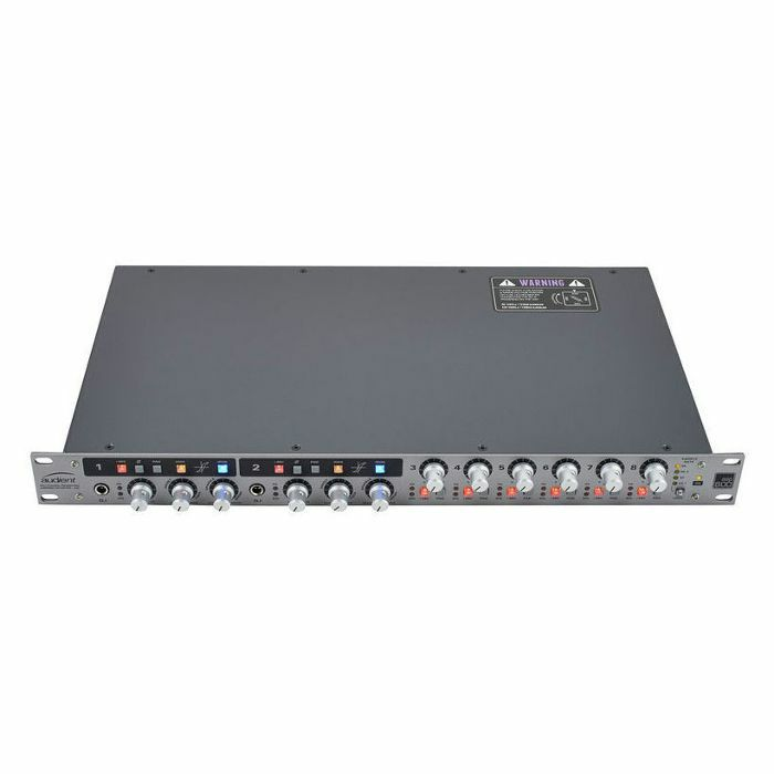 AUDIENT - Audient ASP800 8 Channel Mic Pre & ADC With HMX & IRON ***INCLUDES OVER £500 WORTH OF FREE PLUG-INS & SOFTWARE***