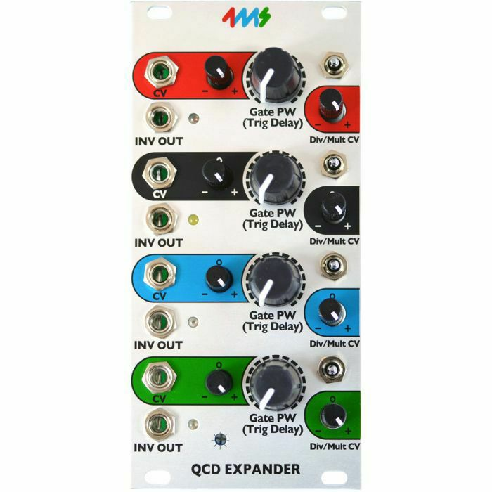 4MS - 4ms Quad Clock Distributor Expander Module (B-STOCK)