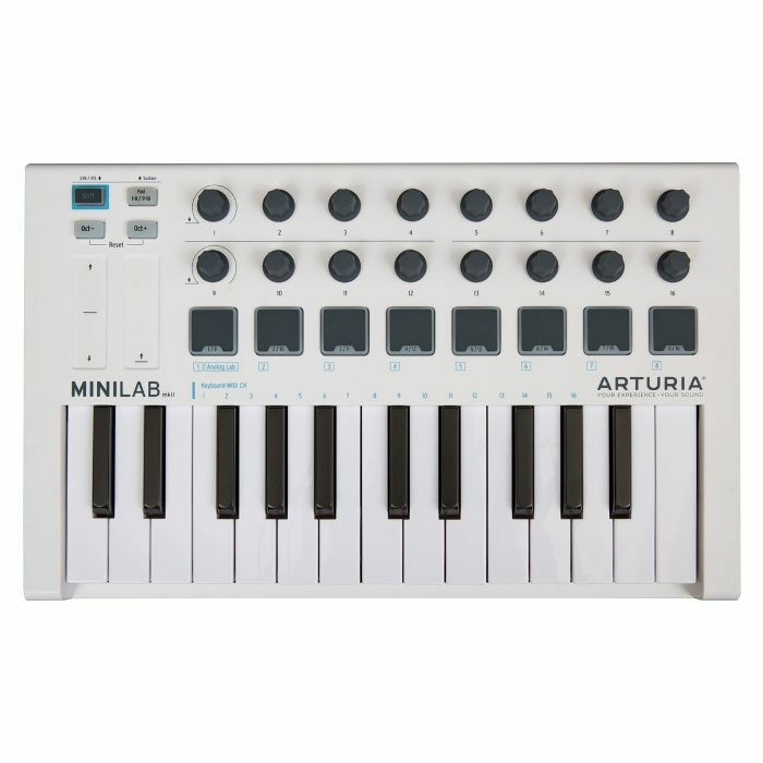 ARTURIA - Arturia MiniLab MKII USB Controller Keyboard & Software Bundle