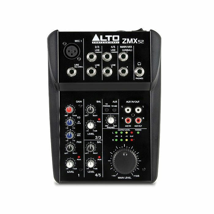 ALTO - Alto ZMX52 5 Channel Compact Mixer (B-STOCK)