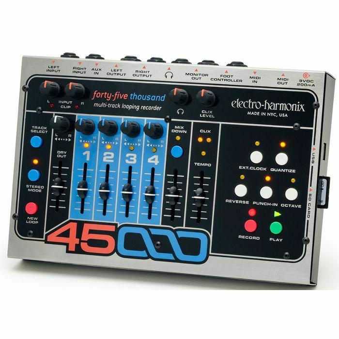 ELECTRO HARMONIX - Electro Harmonix 45000 Multi Track Looping Recorder (B-STOCK)