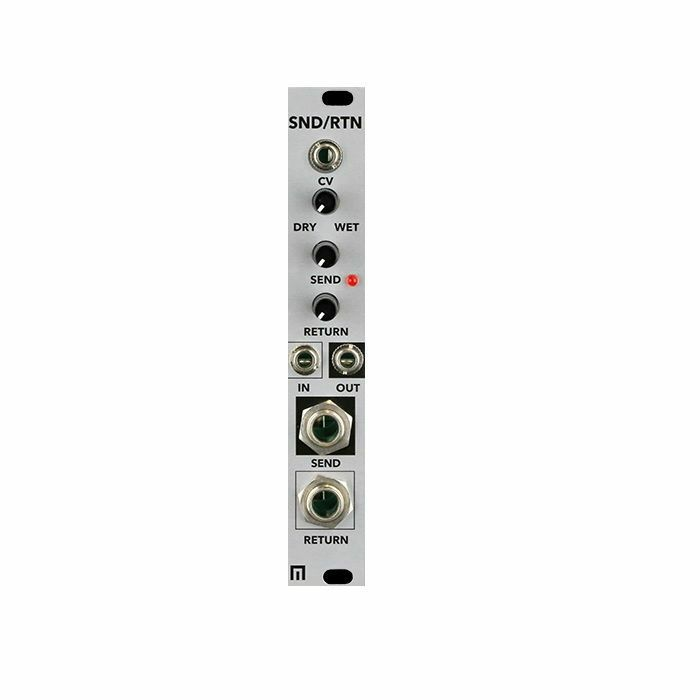 MALEKKO - Malekko SND/RTN Instrument Line Level Send & Return Mixer Module