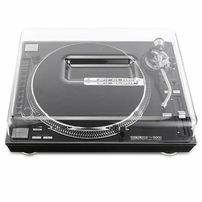 DECKSAVER - Decksaver Reloop RP7000 & RP8000 Turntable Cover (smoked clear)
