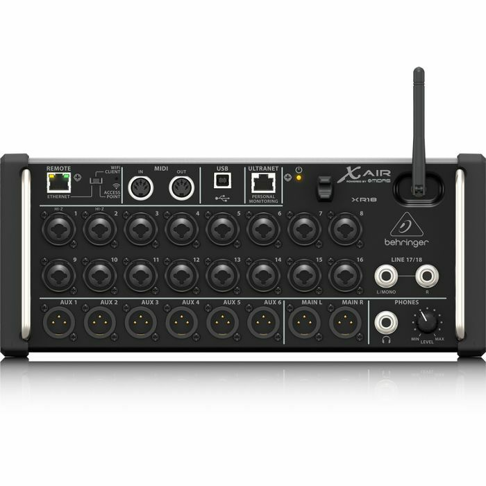BEHRINGER - Behringer X Air XR18 Digital Mixer For iPad & Android Tablets