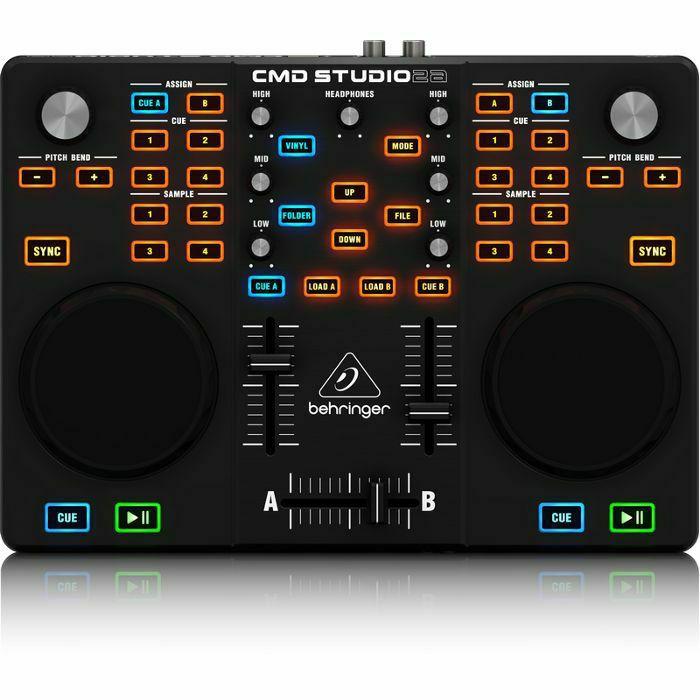 BEHRINGER - Behringer CMD Studio 2A DJ Controller