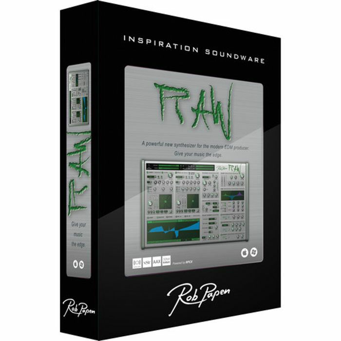 ROB PAPEN - Rob Papen Raw Synthesizer Virtual Instrument Plugin (boxed)