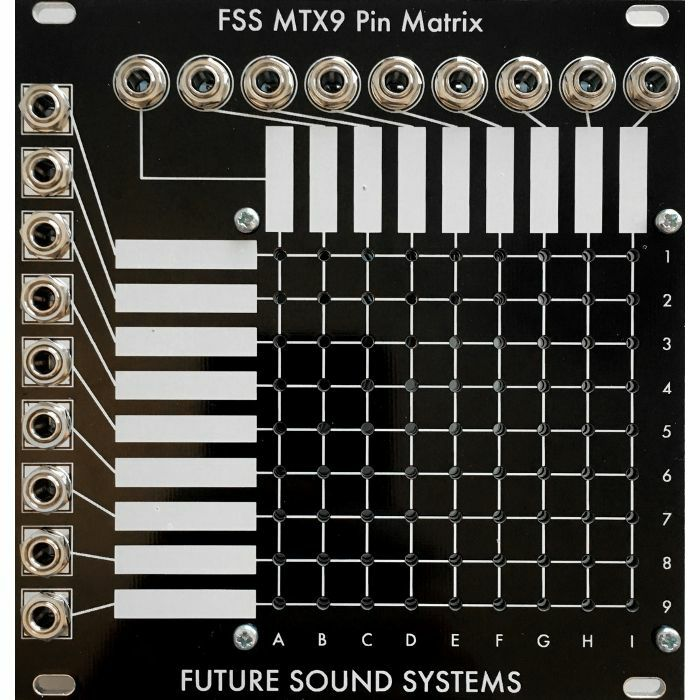 FUTURE SOUND SYSTEMS - Future Sound Systems MTX9 81 Point Pin Matrix Module