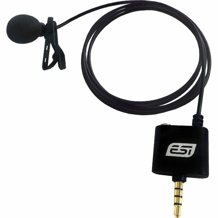 ESI - ESI CosMIK Omnidirectional Lavalier Condenser Microphone For Smartphones