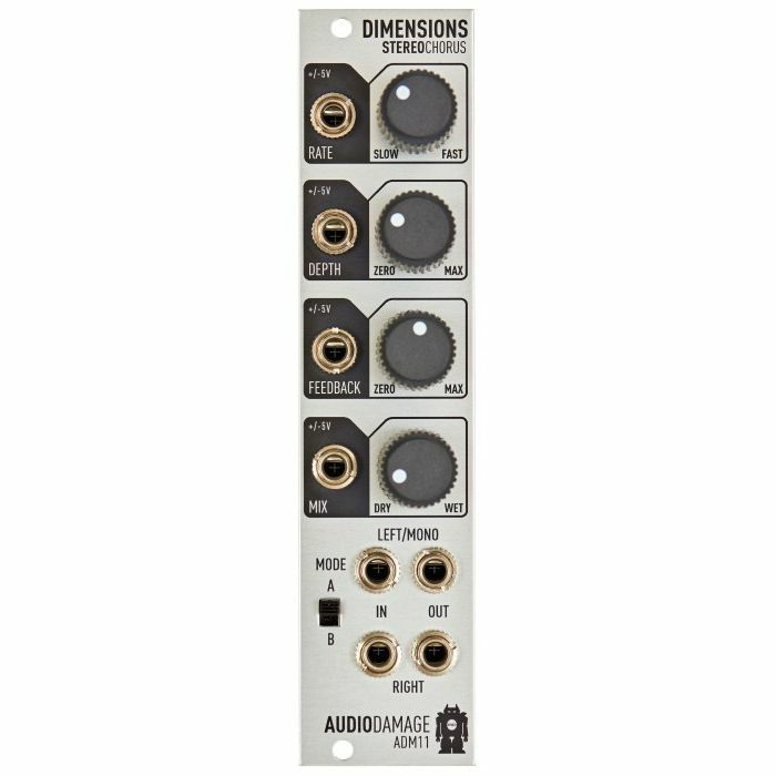AUDIO DAMAGE - Audio Damage ADM11 Dimensions Stereo Chorus Module