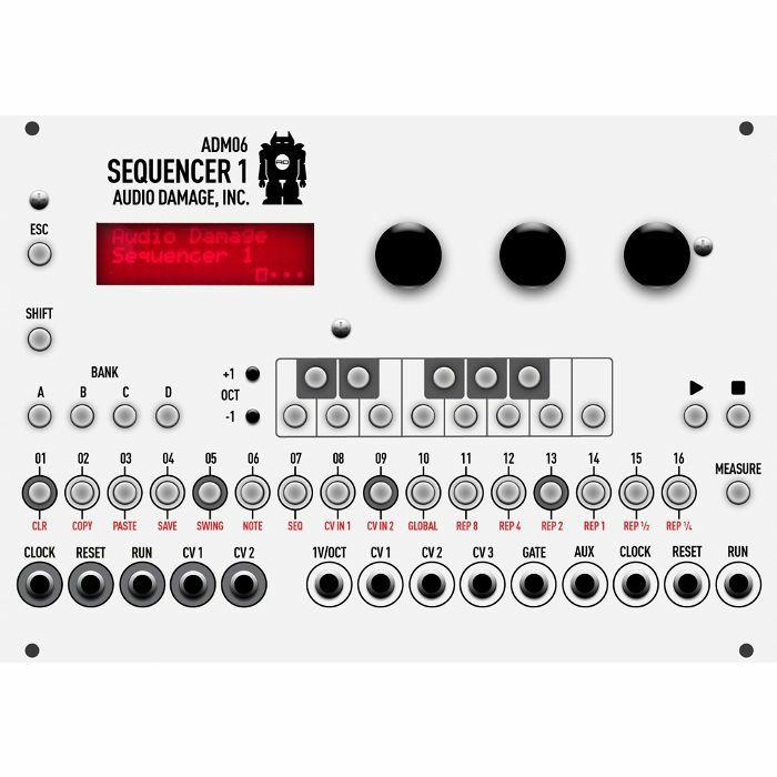 AUDIO DAMAGE - Audio Damage ADM06 Sequencer 1 Module
