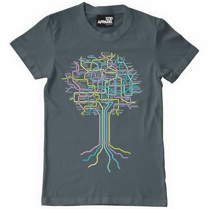 Club roots club roots t shirt grey with multicoloured for T shirt printing nyc same day