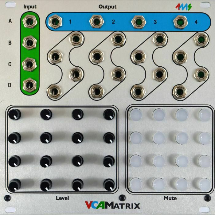 4MS - 4ms VCA Matrix Module (B-STOCK)