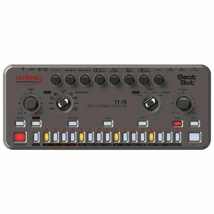 CYCLONE ANALOGIC - Cyclone Analogic Beat Bot TT78 Drum Machine & Sequencer