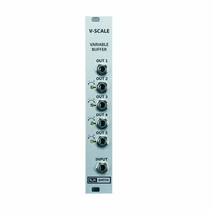 AJH SYNTH - AJH Synth V Scale Variable Buffer & Multi Module (silver)