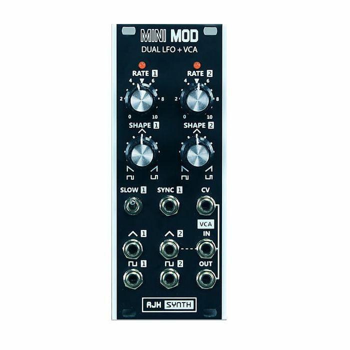 AJH SYNTH - AJH Synth Mini Mod Dual LFO & VCA Module (black)
