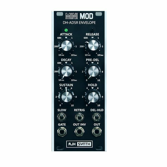 AJH SYNTH - AJH Synth Mini Mod DH ADSR Envelope Module (black)