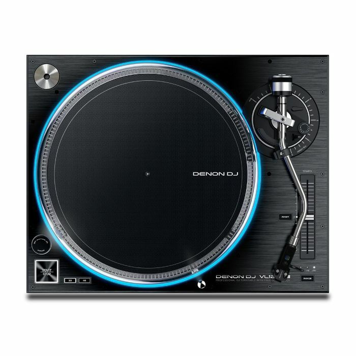 DENON - Denon VL12 Prime Direct Drive Professional DJ Turntable