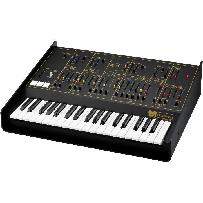 ARP - ARP Odyssey FS Duophonic Analog Synthesizer (limited edition Rev.2, black & gold)