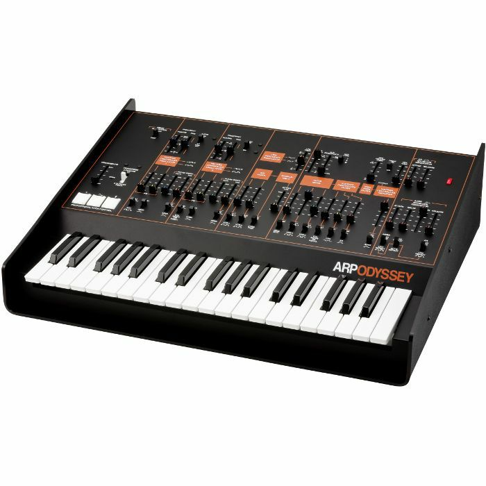 ARP - ARP Odyssey FS Duophonic Analog Synthesizer (limited edition Rev.3, black & orange)