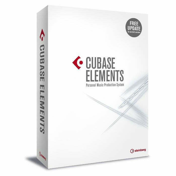 STEINBERG - Steinberg Cubase Elements 9 Music Production Software (full retail boxed version)