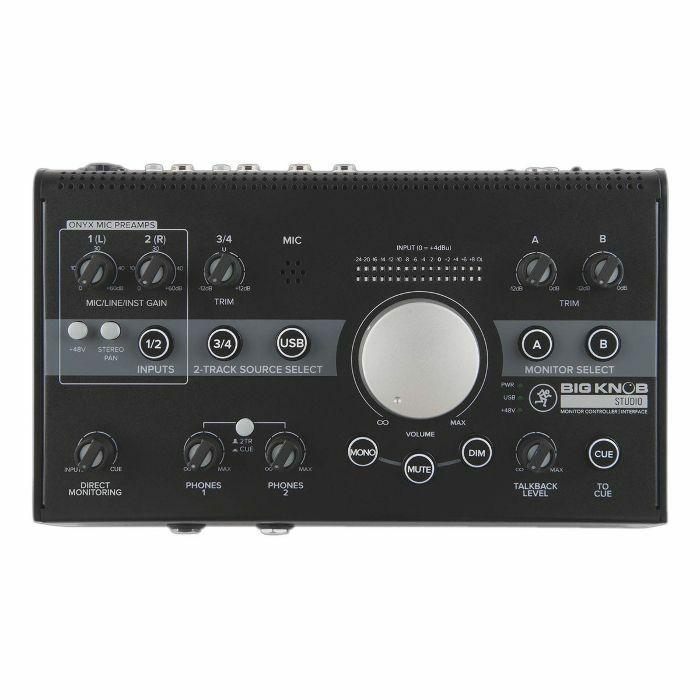 MACKIE - Mackie Big Knob Studio Monitor Controller & USB Audio Interface