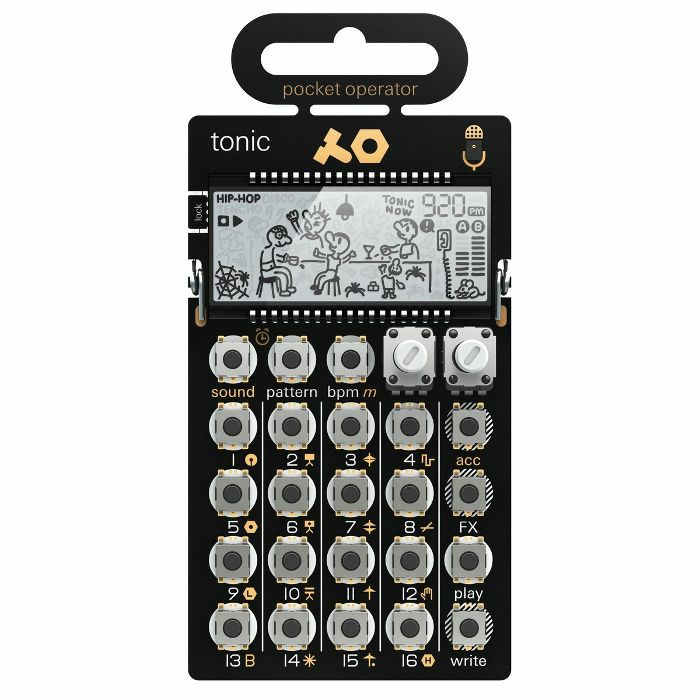 TEENAGE ENGINEERING - Teenage Engineering PO-32 Tonic Pocket Operator Drum Machine