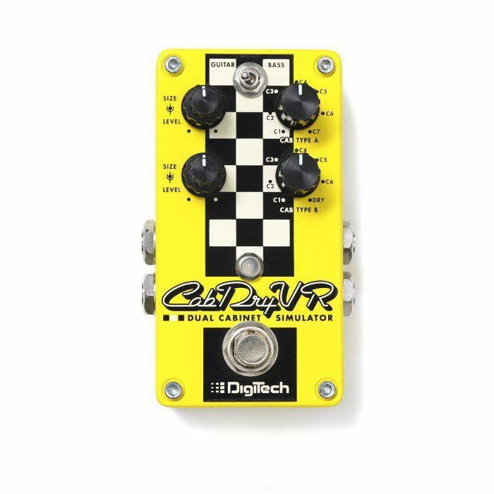 DIGITECH - Digitech CabDryVR Dual Cabinet Simulator Pedal