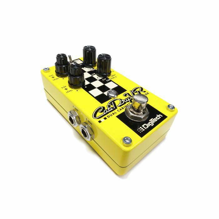 digitech digitech cabdryvr dual cabinet simulator pedal vinyl at juno records. Black Bedroom Furniture Sets. Home Design Ideas