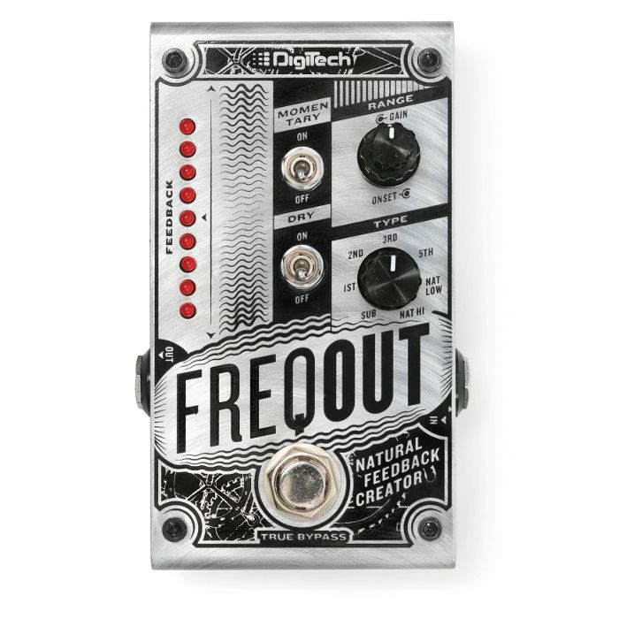 DIGITECH - Digitech FreqOut Natural Feedback Creator Pedal