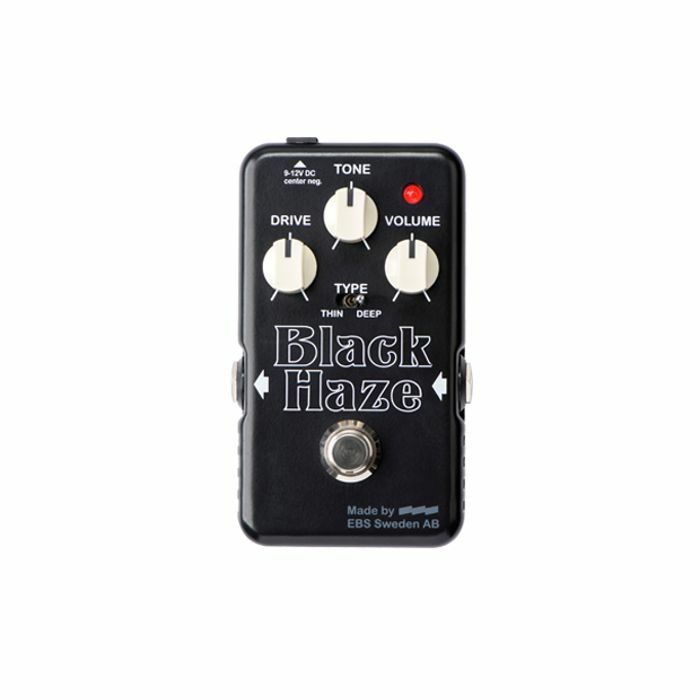 EBS - EBS Black Haze Distortion & Overdrive Pedal