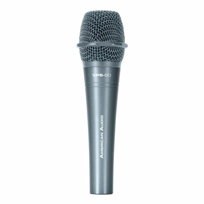 AMERICAN AUDIO - American Audio VPS60 Supercardioid Dynamic Vocal Microphone