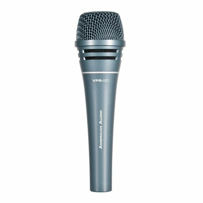 AMERICAN AUDIO - American Audio VPS80 Supercardioid Dynamic Vocal Microphone