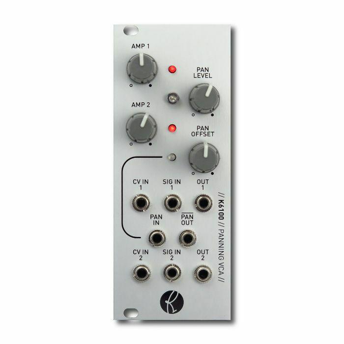 KILPATRICK AUDIO - Kilpatrick Audio K6100 Panning VCA Module