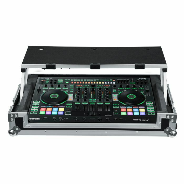 GATOR - Gator G Tour Road Case With Sliding Laptop Platform For Roland DJ808 Controller