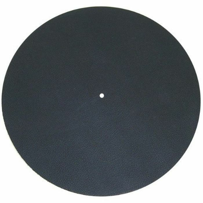 PROJECT - Project Leather IT Leather Turntable Mat (black, single)