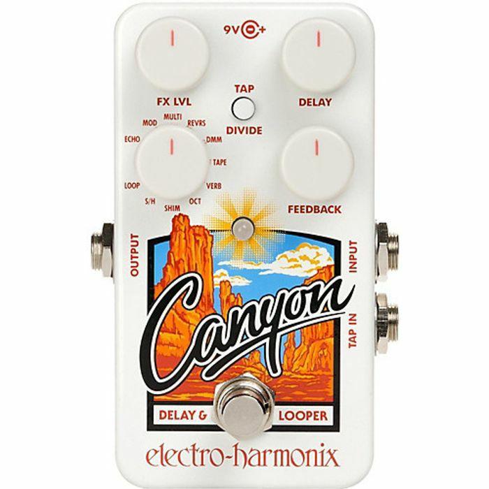 ELECTRO HARMONIX - Electro Harmonix Canyon Delay & Looper Pedal