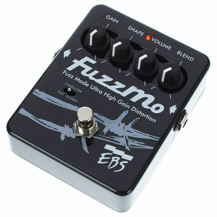 EBS - EBS Fuzzmo Fuzz Mode Ultra High Gain Distortion Pedal (B-STOCK)