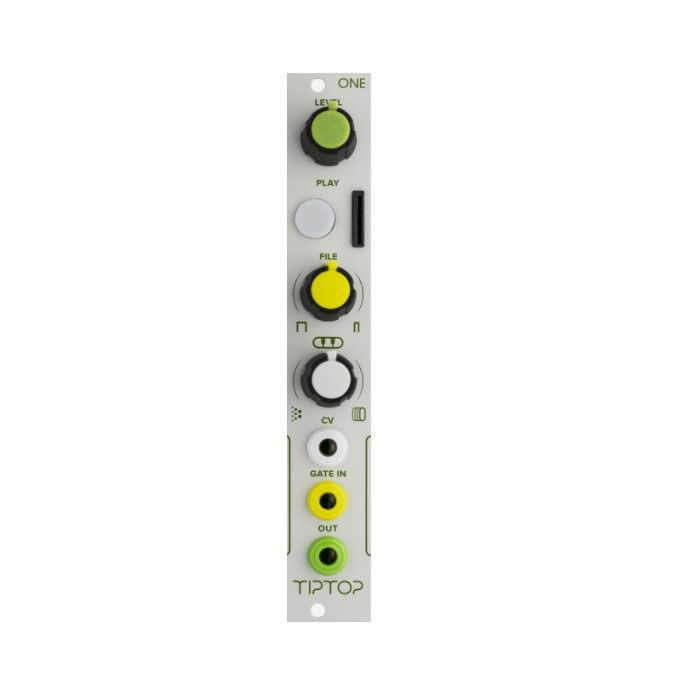 TIPTOP AUDIO - Tiptop Audio One Sample Player Module