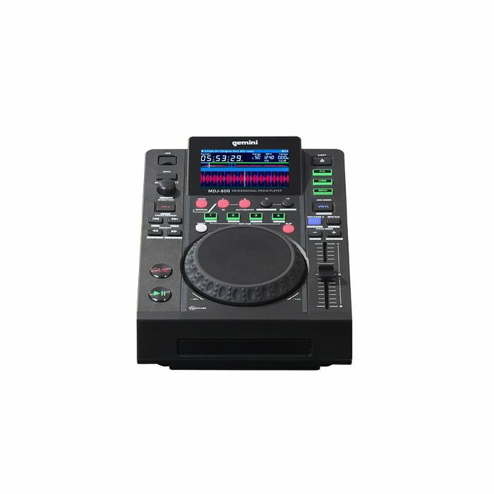 GEMINI - Gemini MDJ600 CD & USB DJ Media Player