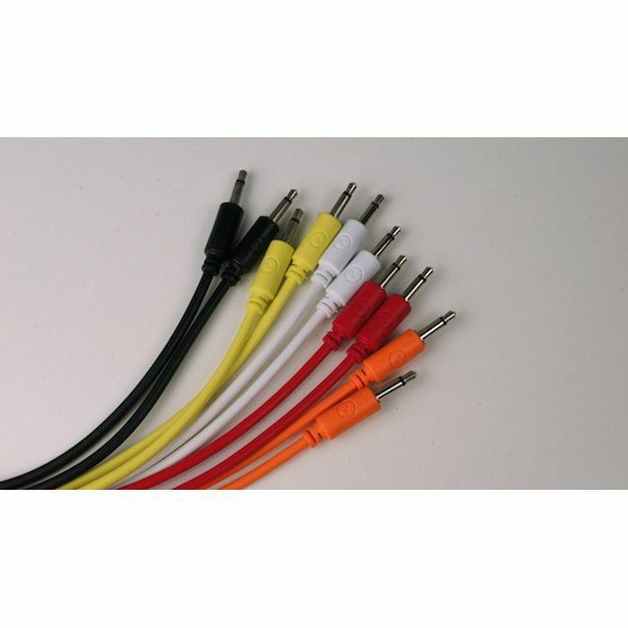 EOWAVE - Eowave Classic Colours Modular Patch Cables (pack of 10, 80cm long)
