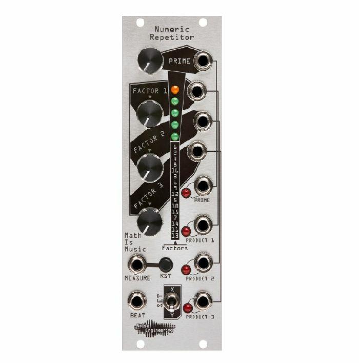 NOISE ENGINEERING - Noise Engineering Numeric Repetitor Dynamic Rhythm Generator Module