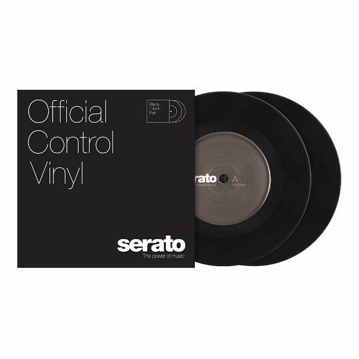 SERATO - Serato Standard Colours 7 Inch Control Vinyl (black, pair)
