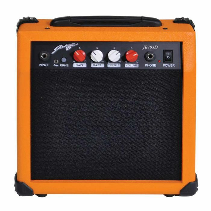 JOHNNY BROOK - Johnny Brook 20W Guitar Amplifier (orange)