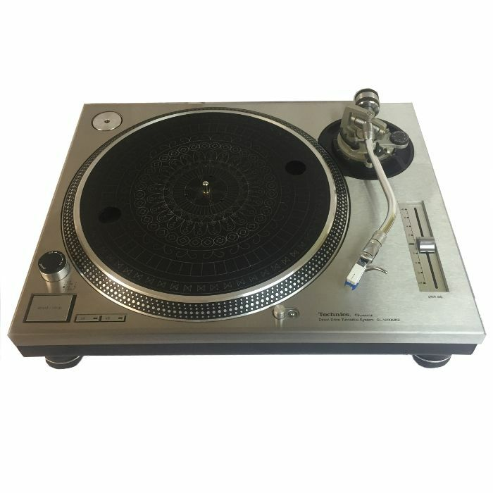 1200 PLATES - 1200 Plates Technics 1200/1210 MK2 Faceplates (stainless steel, pair)