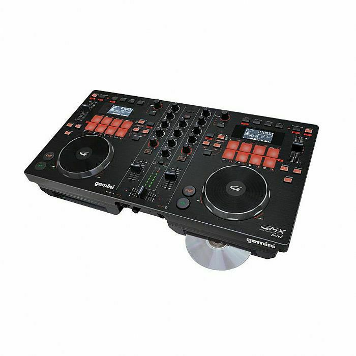GEMINI - Gemini GMX Drive Multi Format Media Controller System With Virtual DJ LE Software (B-STOCK)