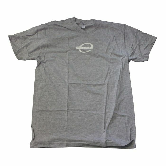 ENVIRON - Environ Records T Shirt (grey with white logo, medium)