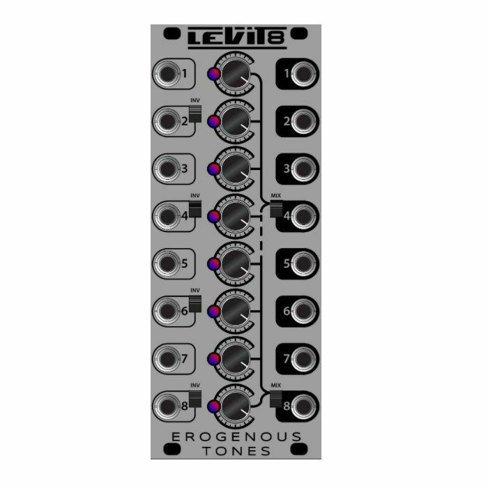 EROGENOUS TONES - Erogenous Tones LEVIT8 Attenuator Gain Inverter Mixer Utility Module