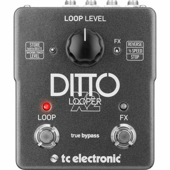TC ELECTRONIC - TC Electronic Ditto X2 Looper Pedal (B-STOCK)